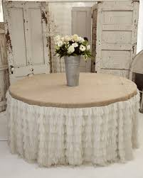 dining room fascinating table decoration using rectangular burlap