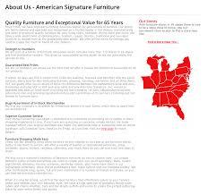 cool american signature furniture corporate excellent home design