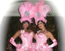 Silver Halloween Costume Feather Showgirl Headdress Mermaid Costume Las Vegas