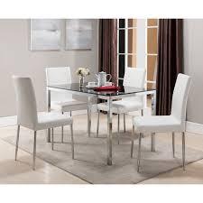 furniture of america luminate contemporary 7 piece illuminating