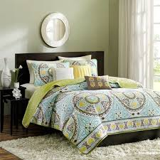 bedroom modern teen bedding sets with classic pattern plus round