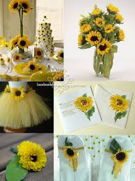 sunflower wedding decorations sunflower wedding ideas sunflower themed party new