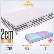 materasso 1 piazza e mezza materassi ipoallergenico 1 piazza e mezza per letto ebay