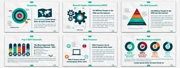 infographic powerpoint template animated infographic comparison