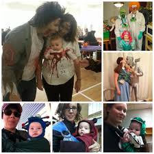 Zombie Family Halloween Costumes by Ottawa Babywearing Group Wordless Wednesday A Halloween In The