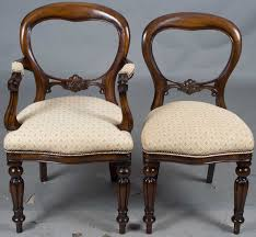 victorian style chairs attractive vintage campaign parlor set of 4 chairish in 17