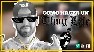 Crear Un Meme Online - c祿mo hacer un thug life app thuglife maker youtube