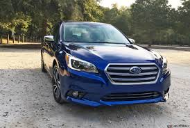 blue subaru 2017 2017 subaru legacy 2 5i sport hd road test review