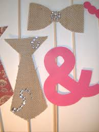 boho photo booth props burlap bow ties shabby chic wedding