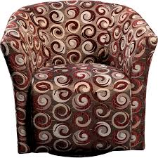 Wyatt Accent Fabric Swivel Tub Chair The Brick - Swivel tub chairs living room