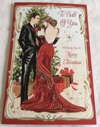 11 clintons art deco lady embellished christmas cards u2022 16 00