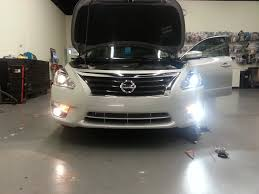 nissan altima 2015 daytime running lights nissan better automotive lighting blog