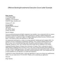 Investment Banking Sample Resume by Sample Cover Letters For Employment Sample Job Cover Letters