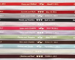 personalized ribbons personalized wedding ribbon and more kate aspen