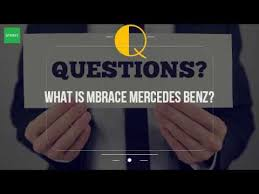 mbrace mercedes what is mbrace mercedes
