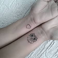 small heart tattoos on arm 50 small owl tattoos collection