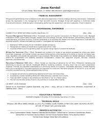 finance resume exles jk finance military conversion jobsxs com