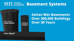 Wet Basement Systems - wet basement keep it dry with mti youtube