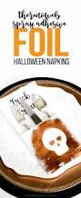 halloween svg files free thermoweb spray adhesive foil halloween napkins printable crush