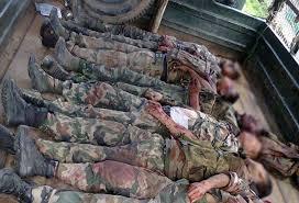 list of assam rifles seven assam rifles jawans killed in nscn k ambush northeast
