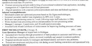 Mortgage Loan Officer Resume Sample by Education Resume Examples Of Education Training Sections Resume