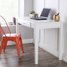 Furniture Desks Home Office by Walker Edison Furniture Company Midtown White Desk With Storage