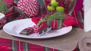 tablescaping for the holidays youtube