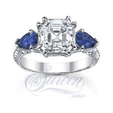 diamond stone rings images Sareen handmade 3 stone rings ladies diamond ring jpg