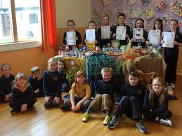 thanksgiving charity news halkirk primary