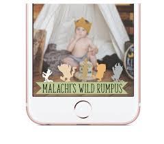 custom snapchat geofilter kids birthday snapchat