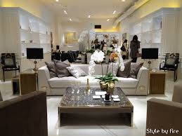 versace home interior design inside the new versace home flagship store style by
