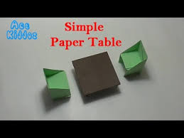 how to make a dining table from an old door how to make dining table paper origami youtube