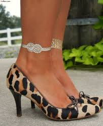 40 attractive ankle chain bracelet tattoos u2013 new girly ankle
