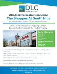 shoppes at south hills has been sold what u0027s next