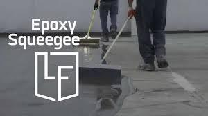 Floor Squeegee by Epoxy Floor Squeegee Youtube