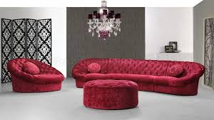 fabric modern sectional sofa set w chair ottoman red fabric modern sectional sofa set w chair ottoman