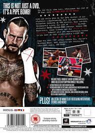 wwe cm punk best in the world dvd amazon co uk dvd u0026 blu ray