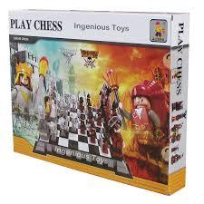 theme chess sets ausini knights vs pirates chess set large box sets 1142pcs new