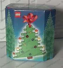 lego 4759 three decorations santa tree and snowman set