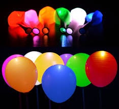 halloween led balloons moon balloonz led light up balloons mixed colors only 1 50