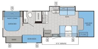 100 camper floor plans with bunk beds 2017 mesa ridge fifth