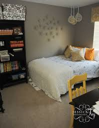 magnificent gray and yellow bedroom in small home decor