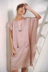 women u0027s dress blush dress pink dress oversized dress silk