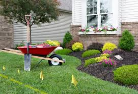 spring landscaping call 811 before digging for home improvement projects and