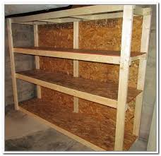 How To Build Garage Storage Shelf by Build Your Own Garage Storage Systems Home Design Ideas