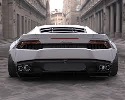 Lamborghini Huracan Wide Body - liberty walk rear wing version ii lamborghini huracan 15 17