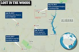 Way Down In The Hole Blind Alabama Alabama Woman Survived In The Woods Was High On Meth Daily Mail
