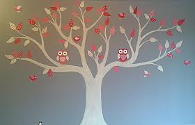bedroom mural colour inspired owls on a tree wall painting loversiq bedroom mural colour inspired owls on a tree wall painting bedroom decorating ideas bedroom