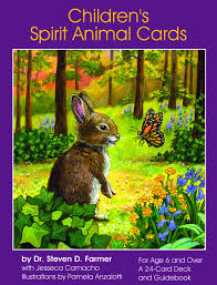 children s cards children s spirit animal cards 24 cards guidebook steven d