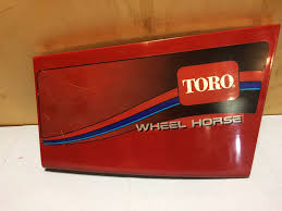toro wheel horse 268h manuals throttle problem